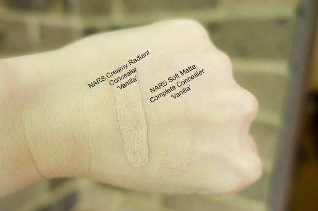 Nars Concealer Swatches small